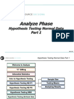 5 Analyze Hypothesis Testing Normal Data P1 v10 3