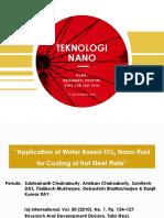 NANOFLUID TIO2