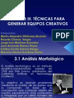 Técnicas Para Generar Equipos Creativos