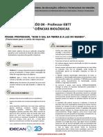 IFPB Professor Ebtt Ciencias Biologicas