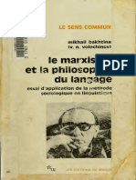 Mikhail Bakhtine, V. N Volochinov-Le Marxisme et la philosophie du langage_ Essai d'application de la methode sociologique en linguistique (Collection Le Sens commun) (French Edition)-Editions de Minu.pdf