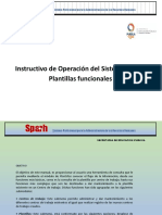 Instructivo de Operacion SPARH - CENSUS