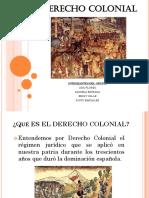 Derecho Colonial