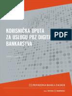 Korisnicka Uputa Za Uslugu Digitalnog Bankarstva