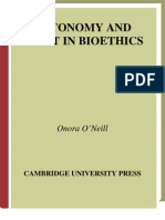 Onora ONeill - Autonomy and Trust in Bioethics