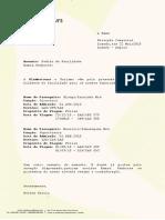 Carta de Bilhete de Facilidade