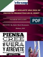 Idea de Negocio en El Peru Ppt