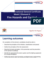 GC2-Element 6 Fire Hazard EAC