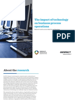 technological developments impact on opration management