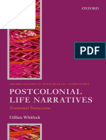 (Oxford Studies in Postcolonial Literatures) Gillian Whitlock-Postcolonial Life Narrative_ Testimonial Transactions-Oxford University Press (2015)