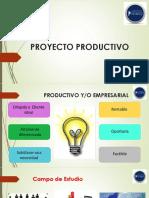 Proyecto Productivo y