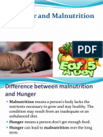 Hunger and Mulnutrition