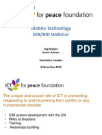 InterAmerican Development Bank Webinar on Mobile Technology