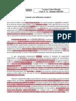 11 - Arendt - El Pensar y Las Reflexiones Morales II