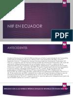 Superior I Marco Conceptual NIIF y Aplicación en Ecuador