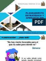 Planeamiento Estratégico y Operativo - Nov 2019 Final