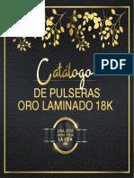 Pulseras Oro Laminado