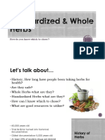 unit 4 standardized   whole herbs