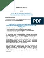 Format Curs-evaluarea Si Consilierea Psihologica-tehnici Psihometrice Si Proiective