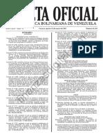 Gaceta-Oficial-41118 Decreto 2.767 P.N. Caura Sumario