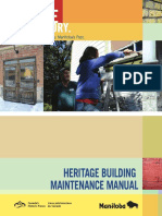 heritage building maintenance manual