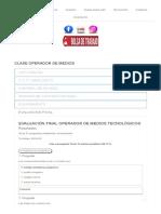 Clase Operador de Medios – Fundación v.u.c