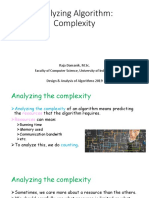Analyzing Algorithm Complexity