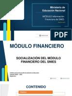 Capacitacion Modulo Financiero 2018