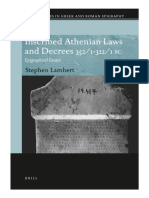 Lambert, S. (2012)-Inscribed Athenian Laws and Decrees 352:1-322:1 BC