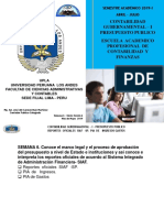 Upla Semana6exp- Reportes Oficiales Siaf-sp -Pia Ingresos Gastos-nicsp-1 Cont Gub -i - Presupuesto Publico 2019- i