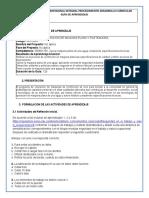 GFPI-F-019 Formato Guia de Aprendizaje Operación de Maquinas