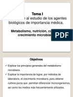 I-04 Metabolismo Nutricion Cultivo y Crecimiento Microbiano