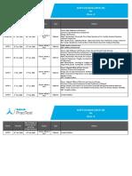 Schedule of aakash i tutor test