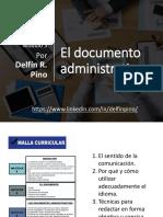 El Documento Administrativo