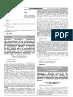 Resolucion Ministerial N 089-2016-MIMP - Aprueban Directiva Procedimiento de Afiliacion Pension No Contributiva Discapacidad Severa