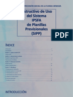 Instructivo SIPP