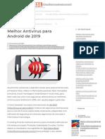 Melhor Antivírus para Android de 2019 [Opções Pagas e Gratuitas].pdf