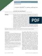 Therapeutic Efficacy Oleozono Onychomycosis