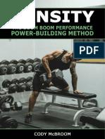 DENSITY - The B.B.P. Power-Building Method 2