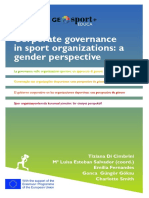 Corporate governance in sport organizations