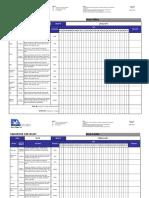 Sanitation Checklist
