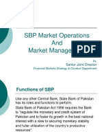 SBP Market Operations