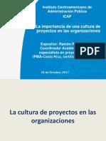 Generar Cultura Organizacional Para Proyectos