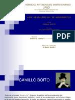 Camilo Boito. Grupo # 5