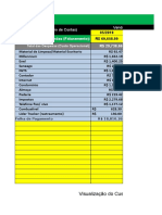 Planilha Calculo de Custo Operacional