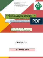 TESIS:DISEÑO DE LOS SISTEMAS GIRATORIOS Y DE ASPERSIÓN PARA UN HORNO PARA PREPARAR COSTILLARES DE CERDO