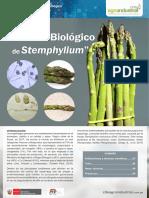 Boletín de Vigilancia Control Biológico de Stemphylium