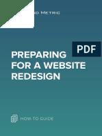 Dm 2019 Preparing for a Website Redesign