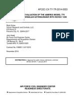 USAF Amerex 775 Novec 1230 Unit Test Report