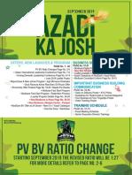 Azadi Ka Josh September 2019